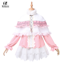 Rolecos Kobayashi-san Chi no Maid Dragon Cosplay Costume Japanese Anime Role Play Kanna Costumes