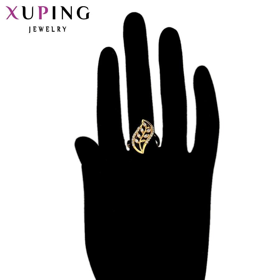 Xuping divat gyűrűk Charm arany színű aranyozott ékszer - Divatékszer - Fénykép 6