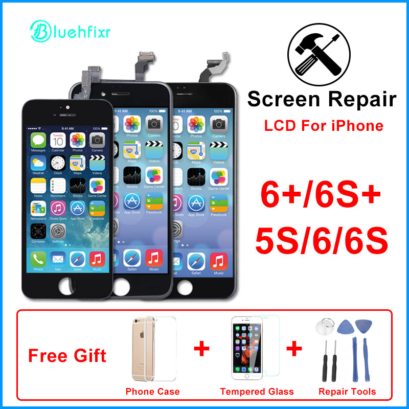 LCD For IPhone 6 6S 5S Screen Display Touch Screen Digitizer Assembly Phone Replacement Parts For IPhone 6 6s Plus LCD