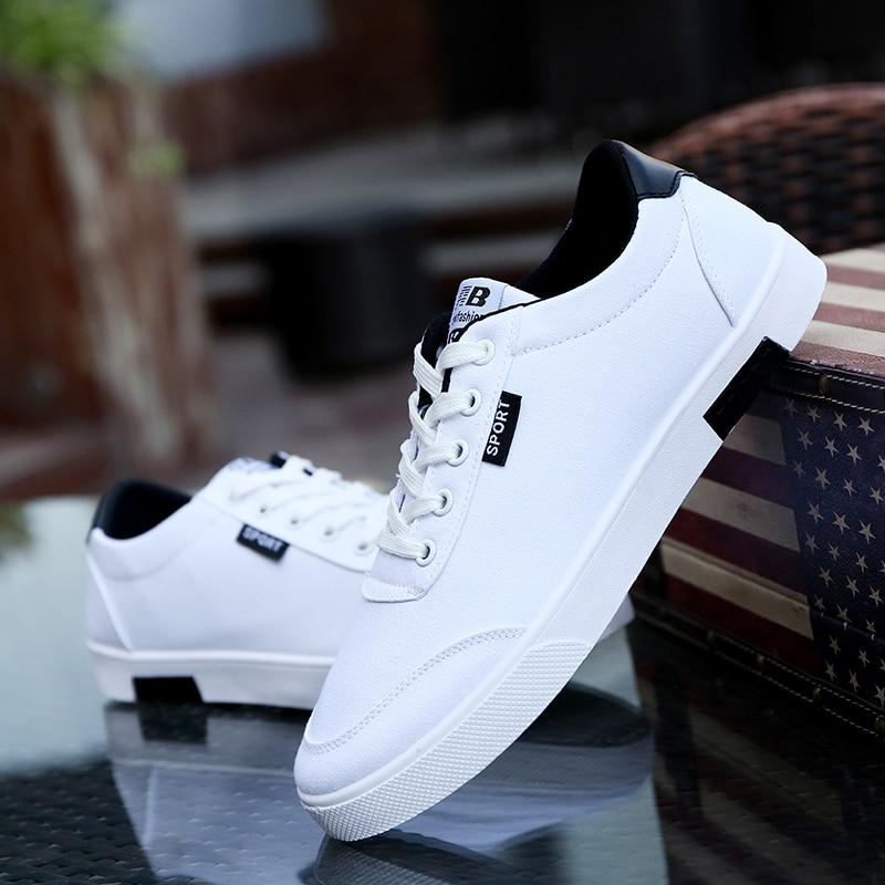 Deporte Negro Hombre856 Trend blanco Estudiantes Lona Zapatillas Zapatos azul 2018 Casual De Hombres Moda Tablero Blanco Nueva Transpirable OZxRH