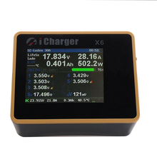Я Зарядное устройство X6 800 W 30A DC ЖК-дисплей Экран Смарт Батарея баланс Зарядное устройство Dis Зарядное устройство