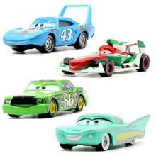 20 Style Disney Lightning Mcqueen Pixar Cars 3 Chick Hicks Metal Diecast Toy Car 1:55 Loose Brand New In Stock & Free Shipping