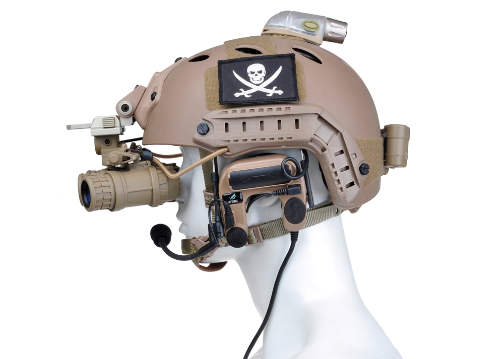 WIPSON Tactical Noise Canceling Aviation Headset Combat comtac IV WZ 038