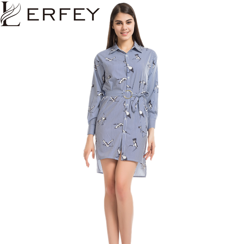 Сорочки з смугастими блузками LERFEY - Жіночий одяг