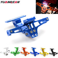 Motorcycle Licence Plate Holder Bracket Frame Number Plate For Yamaha XMAX T MAX TMAX 530 TMAX530