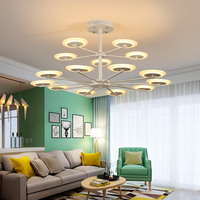 Modern led pandent lights led bilb for parlor bedroom lampada led led strip Simple and stylish support design pendant lamp