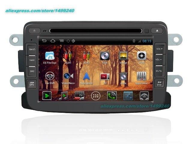 Для dacia logan 2009 ~ 2015-автомобиль android GPS навигации Радио ТВ dvd-плеер Аудио Видео Стерео Мультимедиа Системы