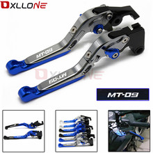 MT-09 Logo For YAMAHA MT 09 MT09 MT-09/FJ-09 FJ FJ09 TRACER 2015-2016 Motorcycle Accessories CNC Brake Clutch Levers Set