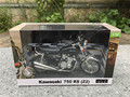 Automaxx 1:12 Kawasaki 750 RS-P Z2 Motorcycle Model Black New in Box