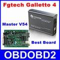 Мастер V54 FG Технология Fgtech Galletto 4 Разблокировать Версия ЭКЮ Чип Инструмент настройки Программист Для Автомобилей Грузовик Двигателя Добавить OBD BDM Функции
