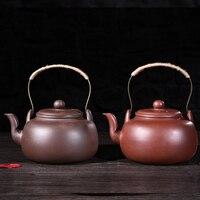 Большое количество фиолетовый песок воды чайник большой емкости Электрический Керамический горшок фиолетовый песок Исин Zisha чайник