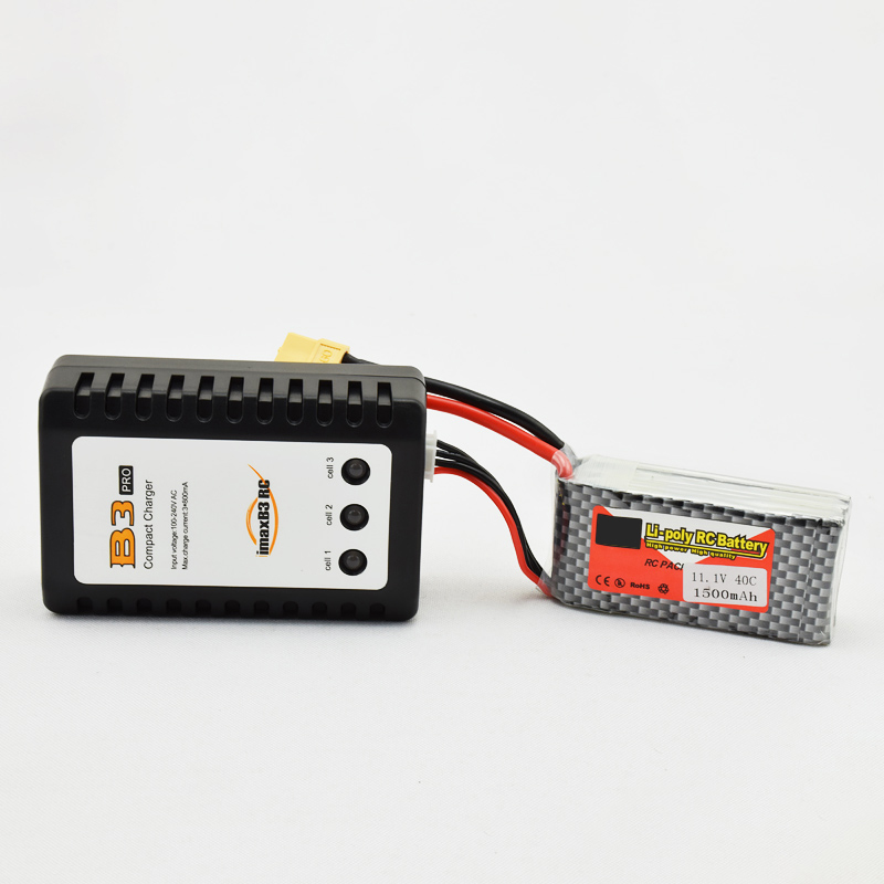 2-3S Cells 7.4v 11.1v Lipo Battery Imax B3 Pro Compact Charger For RC Helicpoter Parts Bateria Charging ( No Battery ) gdszhs b3 20w 2s 3s lipo battery compact for rc model 11 1v 7 4v 1 6a lipo battery 2s 3s charger