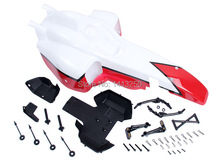 Free shipping!Baja FX F1 conversion kit body shell kit!  TS-H85224 ,wholesale and retail (red and white)