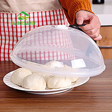 Plastic Food Cover Microwave Oven Oil Cap Heated Sealed Cover Multifunctional Dish Dishes Dust Cover Kitchen Tool
