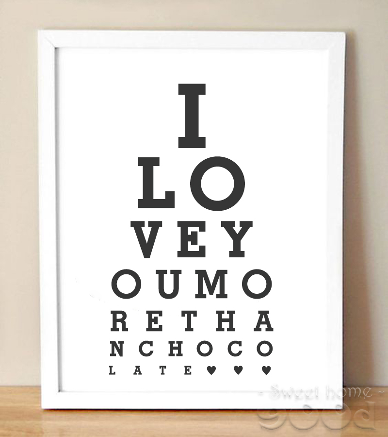 ≧Love Quote Canvas Art Print Painting Poster, Wall Pictures for ...
