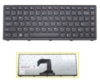 Hot Sale New US Keyboard For Lenovo IdeaPad S300 S400 S400T S400u S405 With Black Frame