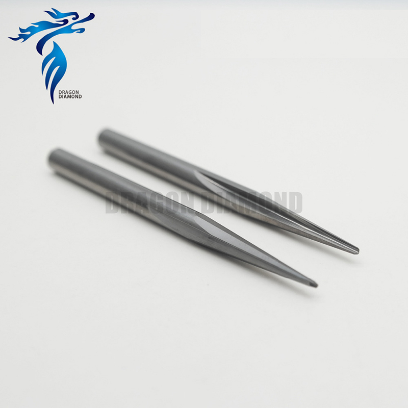 10pcsx8x10Dx70L R0.5 R0.75 R1.0 R1.5 Two flute taper V shape bits CNC Router end mill for engraver 3 175 12 0 5 40l one flute spiral taper cutter cnc engraving tools one flute spiral bit taper bits