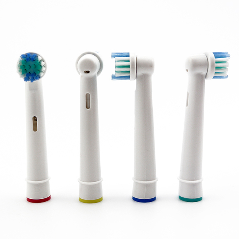 Vbatty 4pcs Replaceable Toothbrush Head Electric Brush Heads Oral Hygiene For Oral B 3D Tooth Brush Heads