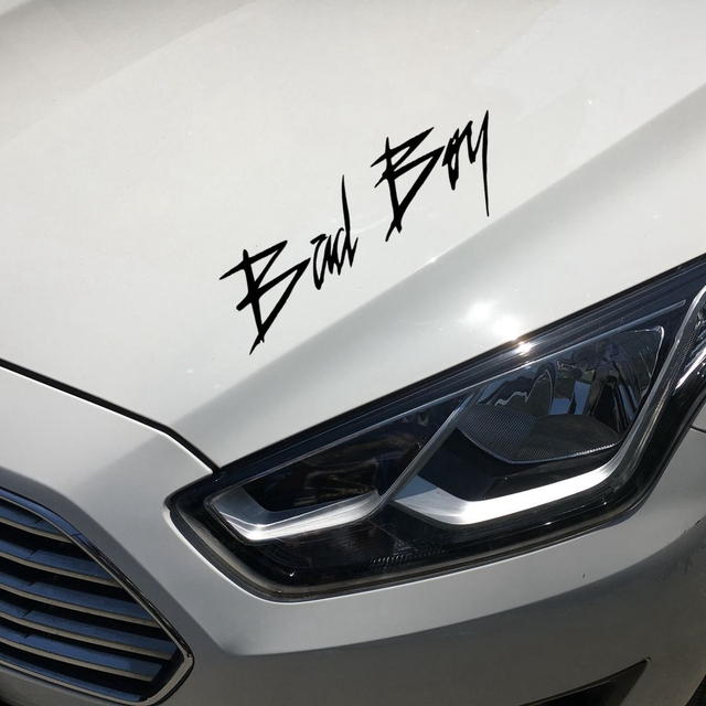 22 4cm8 4cm bad boy creative funny car sticker decal car styling exterior accessories