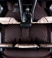 Custom full set car floor mats + trunk mat for Hyundai Grand Starex 2019 2010 8 9 seats waterproof carpets for Grand Starex 2018
