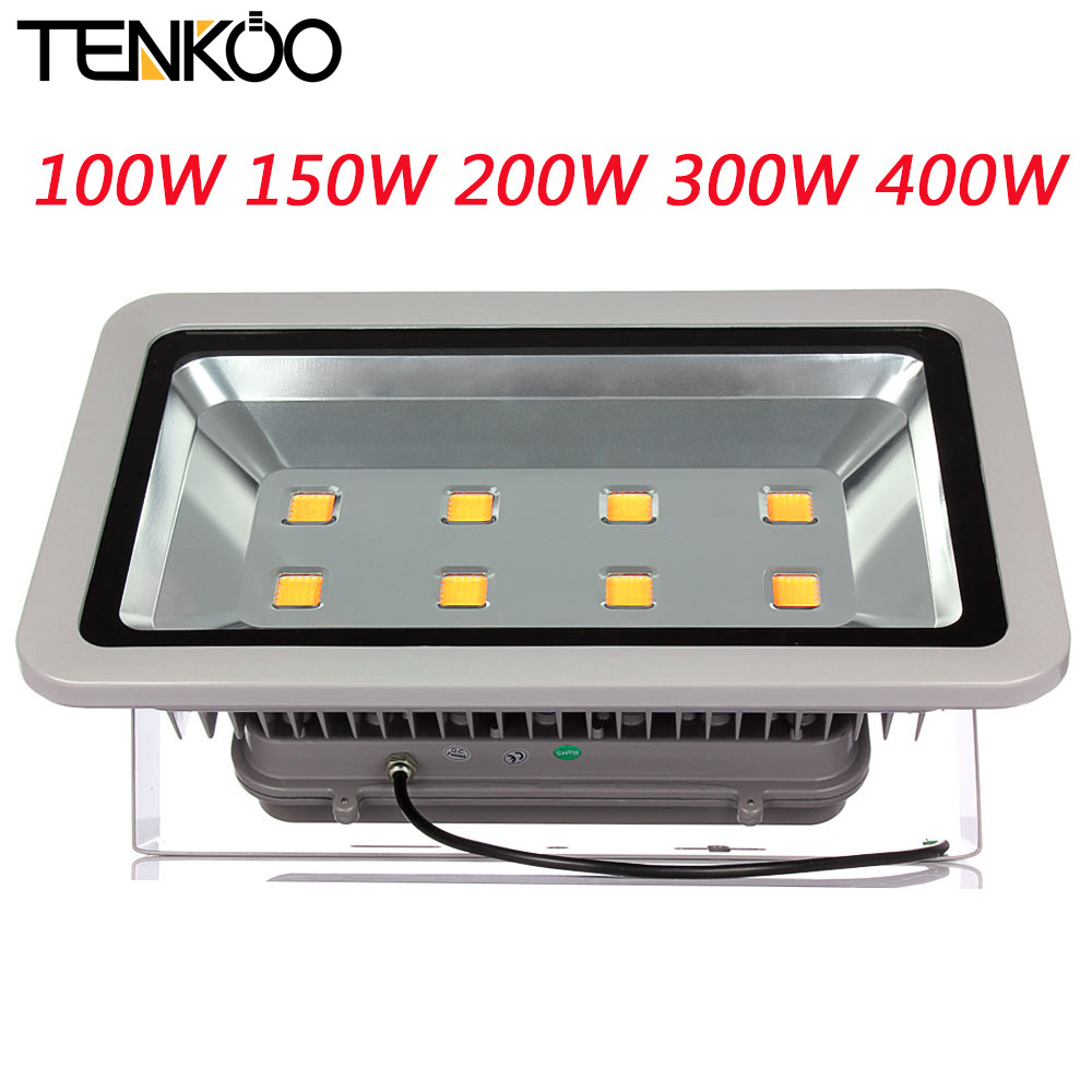 10pcs 100W 150W 200W 300W 400W 500W Led Floodlight Spotlight Outdoor Lighting Flood Light Lamp Warm Cold White IP65 AC85-265V