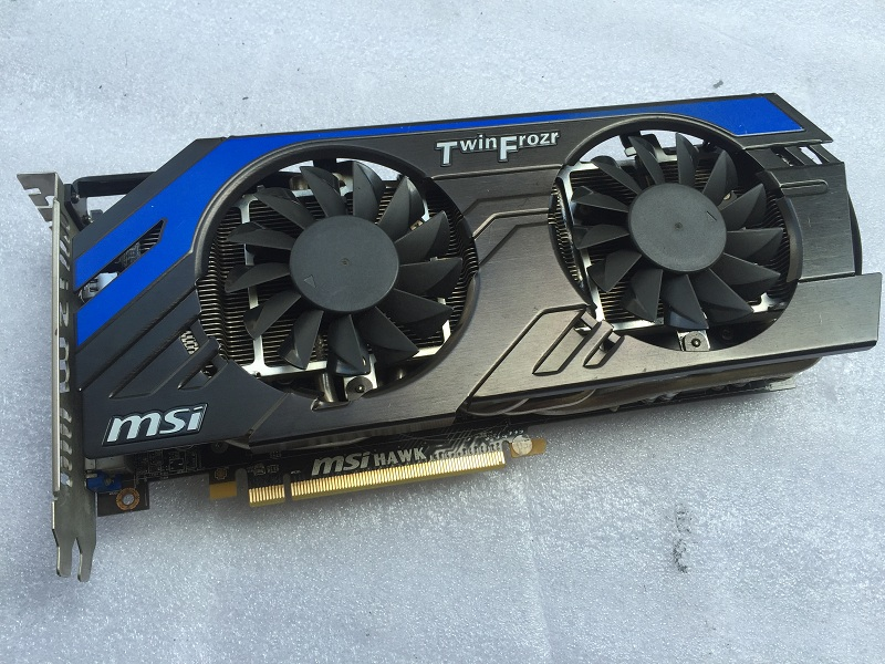 HD7870 HAWK 2G game graphics card
