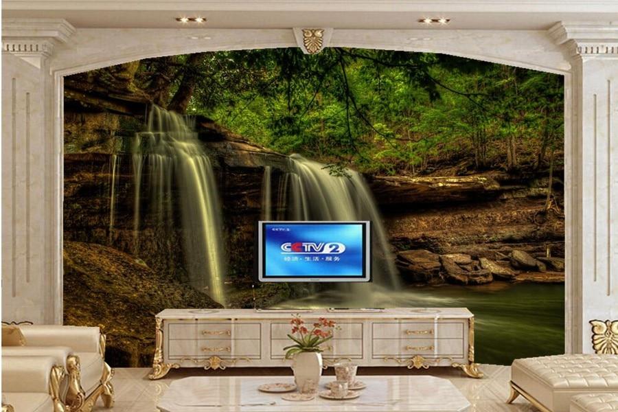 Buy waterfalls usa falls west virginia for Mural hidupan laut
