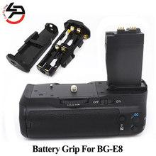 BG-E8 Aperto Da Bateria Da Câmera Digital Para Canon EOS Para BG E8 550D 600D 650D 700D T5i T4i T3i T2i Como MK-550D
