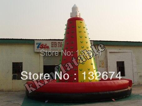 Jeu de sport d'escalade gonflable pour entreprise de location