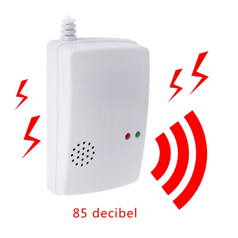 220V Gas Leak Detector 85db Propane Butane Methane Natural Gas Safe Alarm Sensor New Arrival
