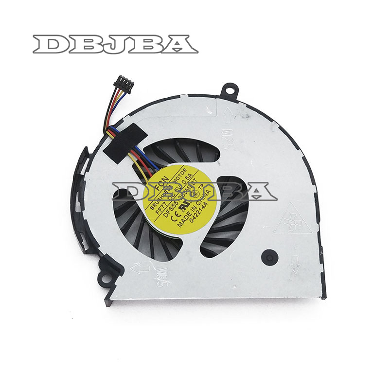 HP Sleekbook 14 15 702746-001 697914-001 BSB0705HC-CC1S AB09005HX070B00 CPU FAN