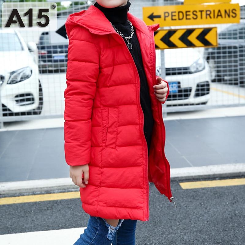 bb254950f A15 Fashion Children s Jackets Coats Warm Girls Down Coats Winter ...