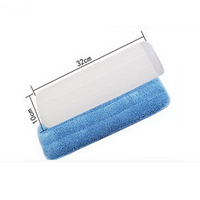 270424/Replacement cloth /Microfibre Fabric Replacement Cloth Floor Folding Flat Mop Easy Wash Head Refill Replace