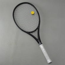 Buy Black APD Nadal Tennis Racket 300g 16x19 100% Carbon black Tennis Racquets With String Bag Grip Size L2 L3 L4