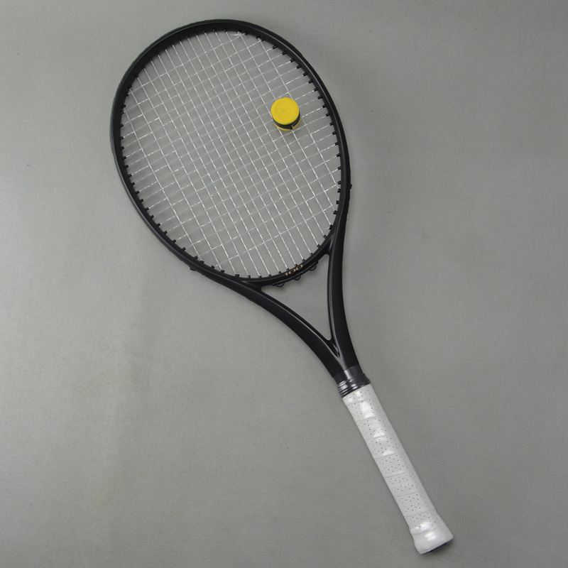 Black APD Nadal Tennis Racket 300g 16x19 100% Carbon Black Tennis Racquets With String Bag Grip Size L2 L3 L4