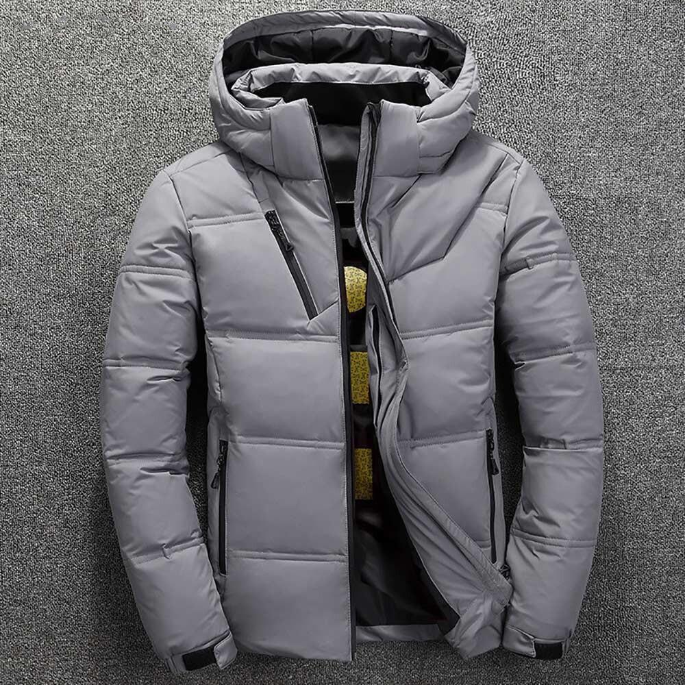 White Duck Down Jacket 3