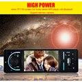 Venda quente Tela de 4.1 Polegadas HD MP5 Player de Rádio Do Carro Do Bluetooth 12 V Suporte De Áudio De Vídeo do carro Câmera de Visão Traseira 1 Tamanho Din Remoto controle