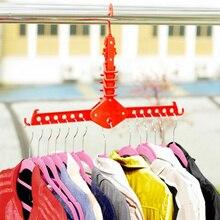 Вешалка Костюмы Space Saver вешалка складной многофункциональный Волшебная Одежда стойки для Шкаф-стеллаж для хранения одежды минималистский стиль
