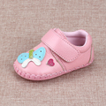 2017 Spring Fall Baby Toddler Shoes Infant Kids Genuine Leather Soft Bottom Batches Single Shoes Newborn Lovely Prewalkers G986