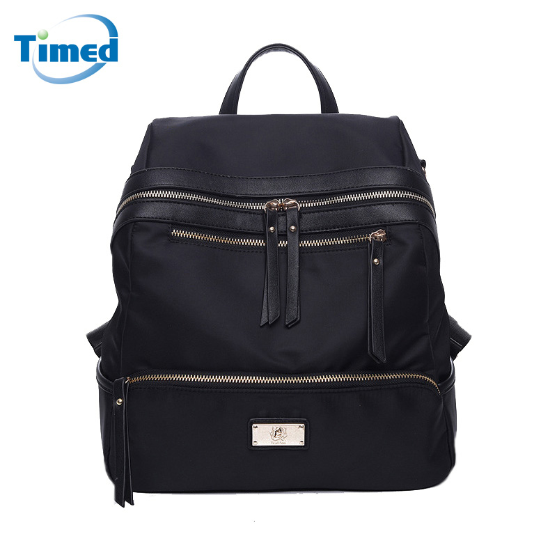 Europe Style 2017 New Women s Backpacks Solid Zipper Travel Bag For Female Simple All Match