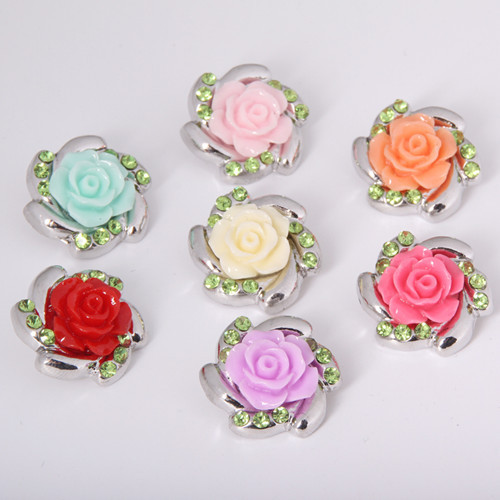 Beauty Charm Flowers 18MM...