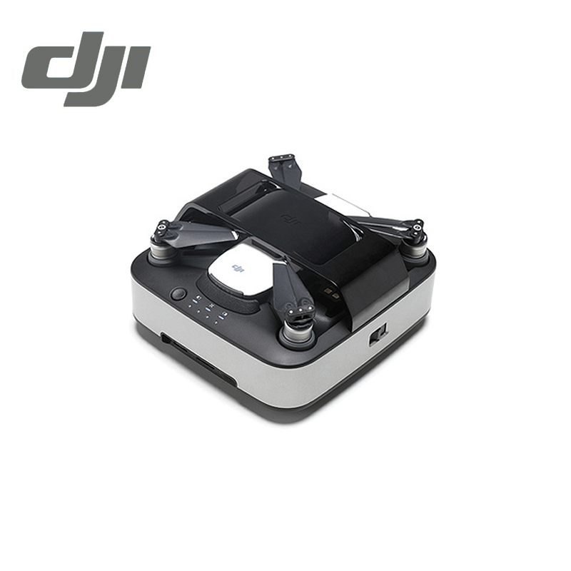 DJI Spark Portable Charging Station ( Charge Three Batteries ) Spark Drone Charger Intelligent Flight Battery Charger Original original dji phantom 4 battery charging hub intelligent charge up to three intelligent fly batteries for phantom 4 series