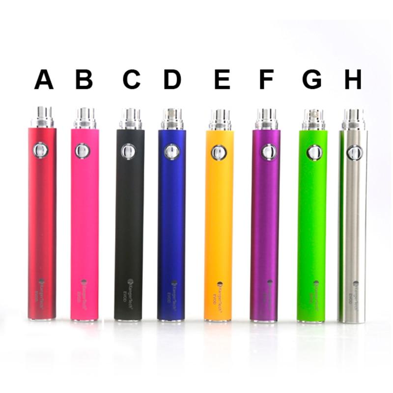 Originale Kanger Evod Batteria 1000 mah Per Sigaretta Elettronica Ego 510 Discussione Batteria Multi Colori