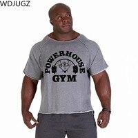 Men S T Shirts Golds Fitness Men Bodybuilding Gorilla Wear Shirt Batwing Sleeve Rag Tops