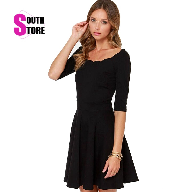 Aliexpress.com : Buy Southstore Vestidos Casual Black New Fashion ...