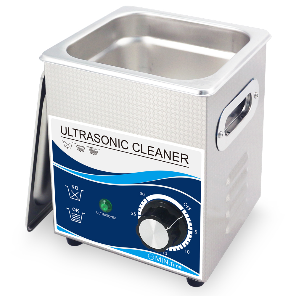Multi-Function Ultrasonic Cleaner Machine With Large Digital Timer and Temperature Display 2