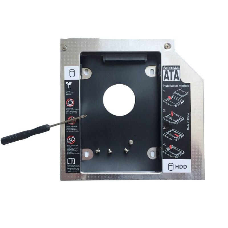 2nd SATA Hard Drive HDD SSD Caddy for Packard Bell EasyNote TK81 TK83 TK85