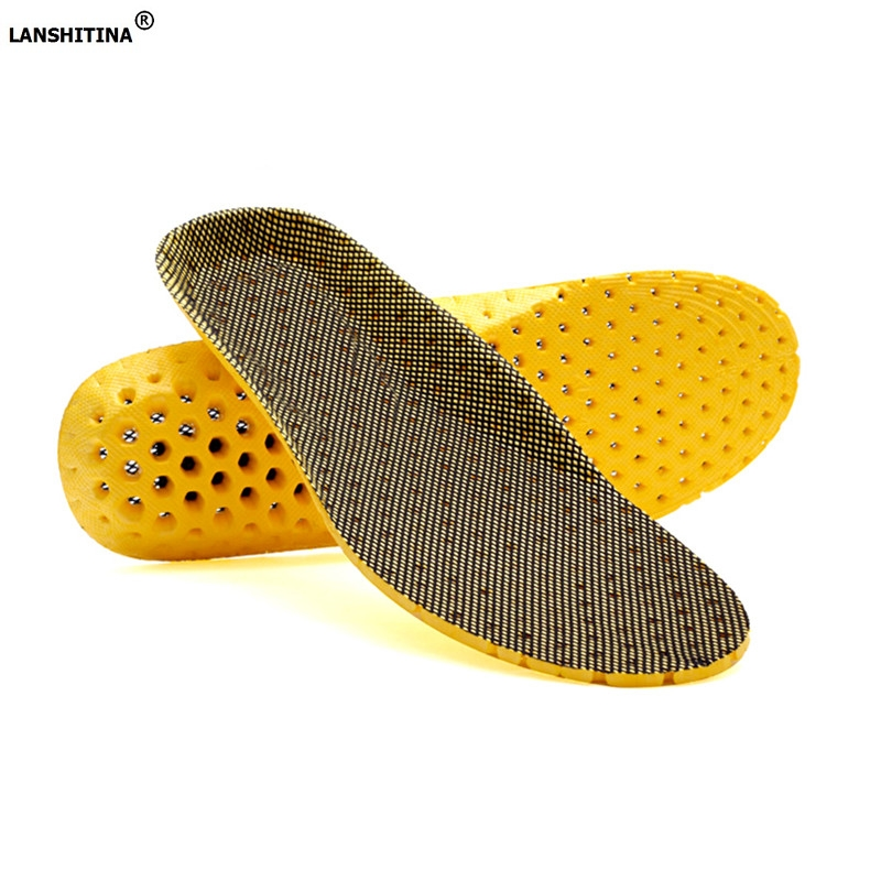 Deodorant Sport Insoles Flat Foot Arch Support Orthopedic Insoles Active Carbon Fiber Breathable Shoe Pad Accessories Inserts breathable shoe pad orthopedic insoles flat foot arch support insoles deodorant shoes insoles pads palmilha accessoire chaussure