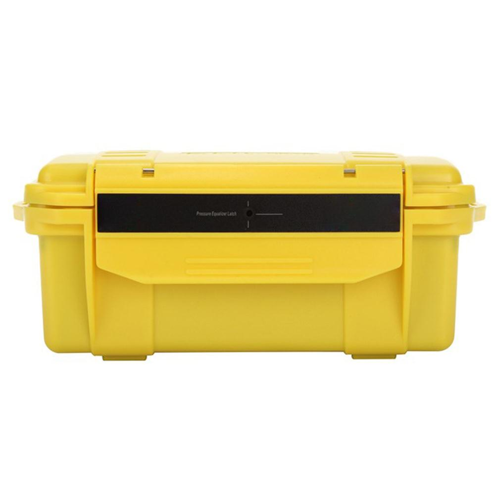 Camping Toolbox Durable Waterproof Yellow Outdoor Tool Box Emergency Survival Box Survival Kit First Aid Tool Box Survival