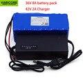 Е-байка 36В 8Ah 10S4P 500 w 18650 Перезаряжаемые аккумуляторной батареи  изменение велосипеды  электрических транспортных средств  е-байка 36В защиты ...